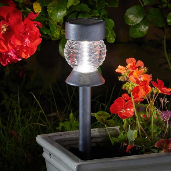 Crystal 365 Solar Stake Light 5L